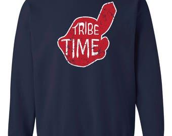 Tribe Time Crew Sweatshirt