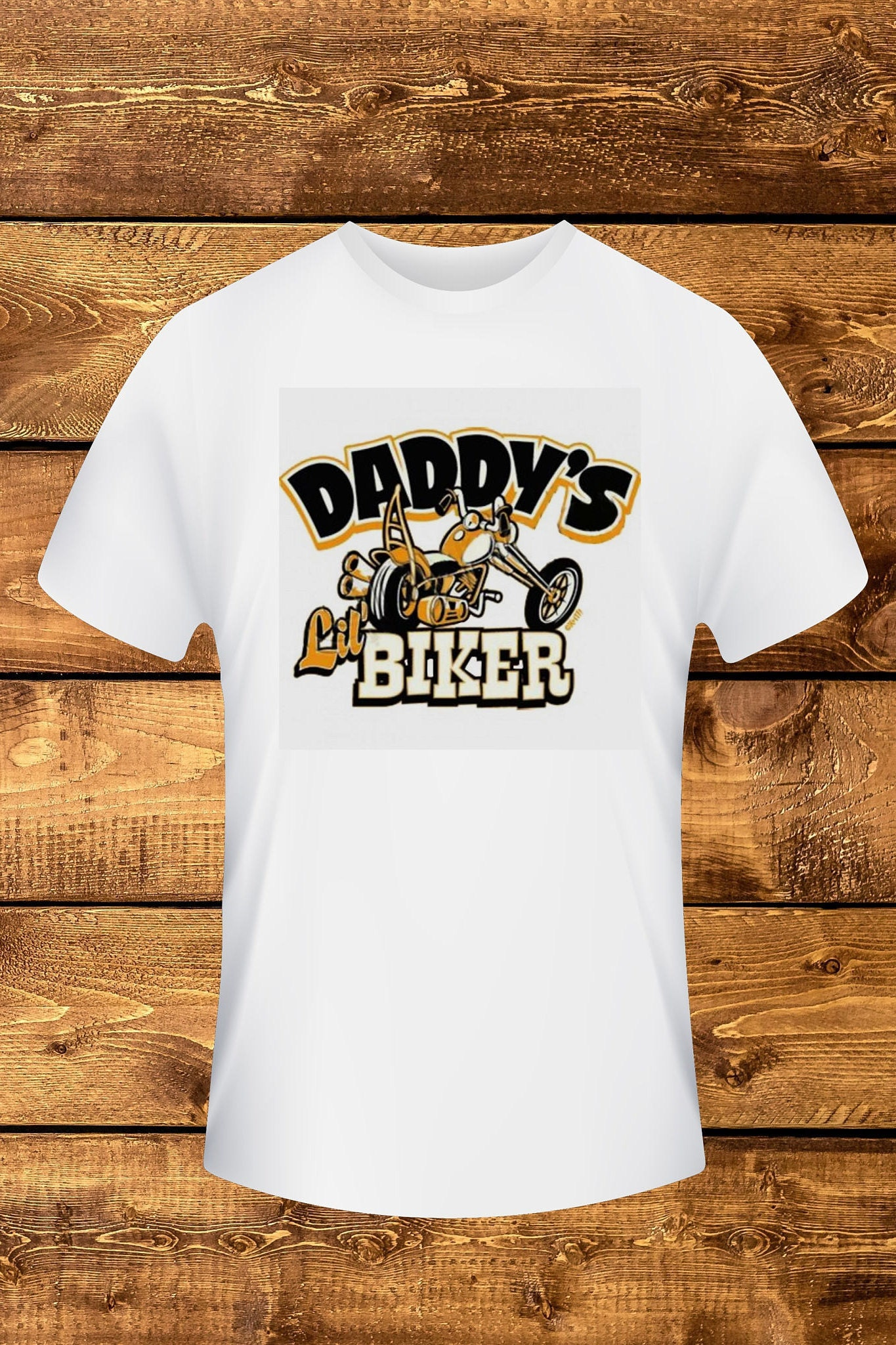 Daddy Lil Biker Infant Bodysuit Toddler Tee Baby e Piece infant
