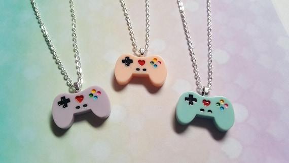 Game controller necklace gamer necklace game controller aloadofball Choice Image