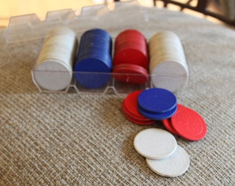 Vintage Crisloid Poker Chips