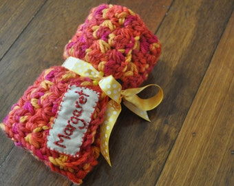 Personalised Crochet Pencil Roll