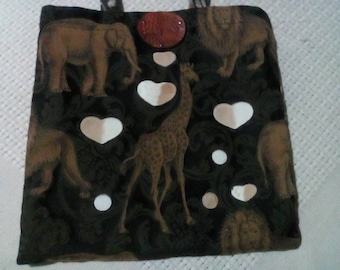 Bag with african design