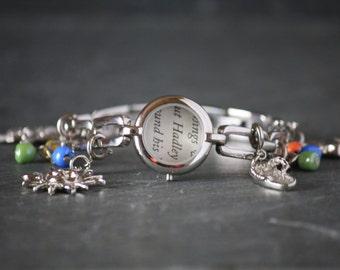 The Paris Wife recycled book bracelet, recycled watch bracelet, Ernest Hemingway, Hadley Hemingway, book page jewelry, book page bracelet