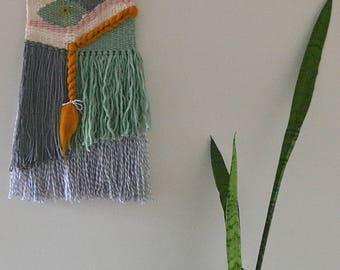 Handmade woven wall art