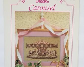 Counted cross stitch pattern | Teresa Wentzler | Carousel | Fantasy cross stitch pattern