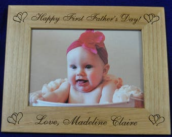 Gift For Dad ~ Birthday Gift For Dad ~ Baby Frame ~ Custom Frames ~ Picture Frames ~ Frames For Baby ~ Dad Gifts ~ Grandparents Gifts ~ Baby