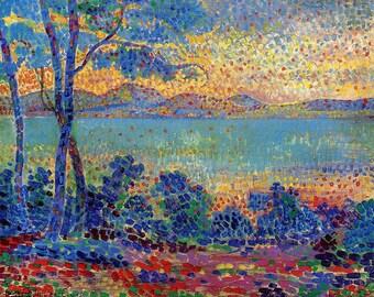 Provence Landscape by Henri-Edmond Cross