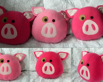Decorative Pig Pillow Made to Order