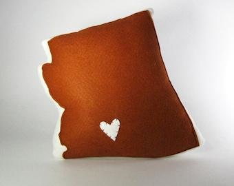 Customizable Arizona State Pillow
