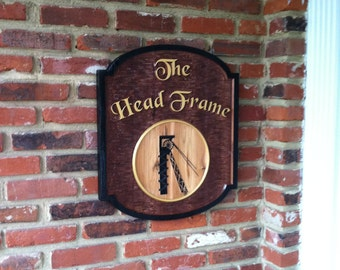 Custom Carved Tavern Sign - Personalized - Made to order