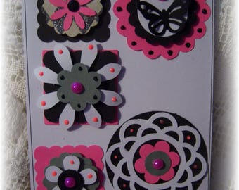 Layered Cardstock Embellishments for Scrapbook,Journal,Tags,Handmade Cards