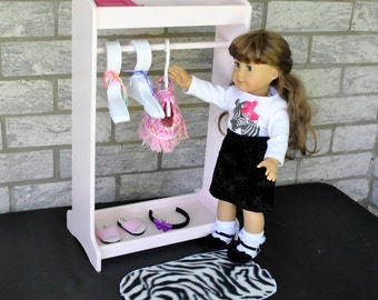 "Clothes Rack for 18"" Dolls - Smaller Size"