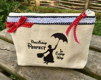 Makeup bag or Tote Mary Poppins