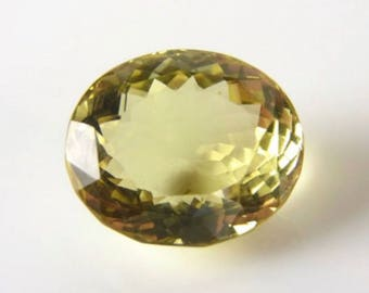 Genuine Natural Lemon Quartz AAA Oval Loose Gemstones (5x3mm - 14x10mm)