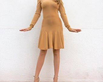 SOLD! Stunning Azzedine Alaïa vintage skater dress