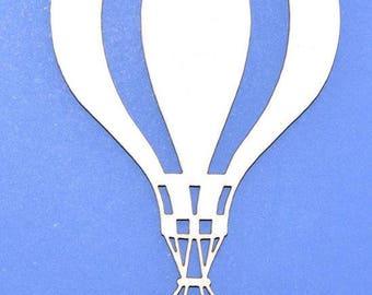 Chipboard scrapbooking balloons