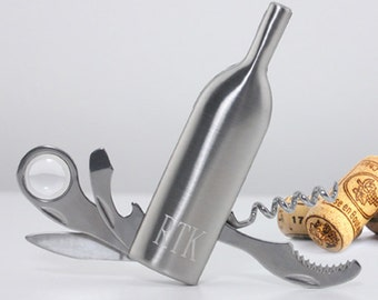 Personalized Vino Wine Bottle Multi-Tool