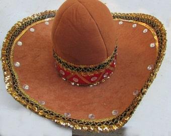 Sombrero hat mexican bandit costume mummers parade halloween