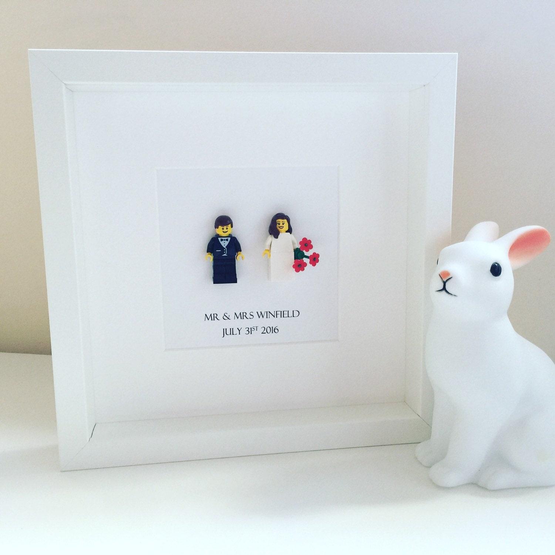 Lego Wedding Gift Mini Figure Bride Groom Wedding Gift For
