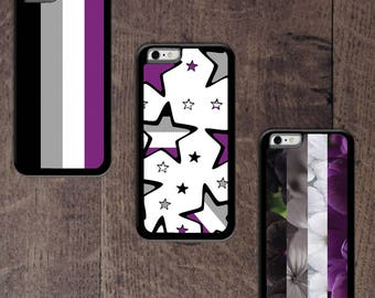 Asexual Pride Flag Phone case