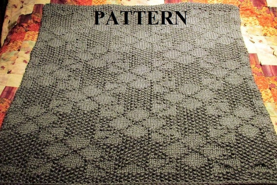 Knitting Pattern Baby Blanket Knit Baby Blanket Pattern