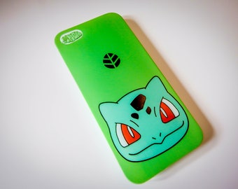 Bulbasaur Fashion Pokemon GO Foam Phone Back Case Cover For iPhone 5 5S SE 6 6+ 7 7+ X