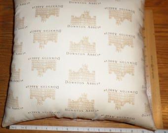 New ** Downton Abbey ** Small Decorative Cotton Fabric Pillow