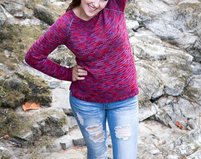 Done in Love Pullover - Crochet Pattern