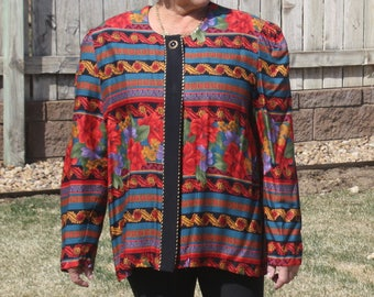 Vintage Risa Ann Cardigan from the 80's