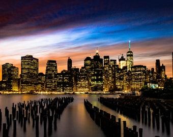 NYC Skyline Print
