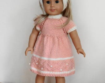 Knitting pattern for an 18 inch doll - American Girl, Kidz n Katz or similar