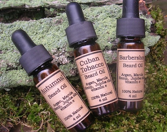 Beard Oil Trio Sampler