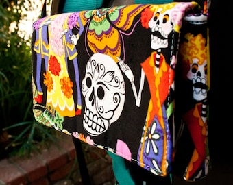 Day of the Dead Party Clutch by FanGirl. SuperHero.