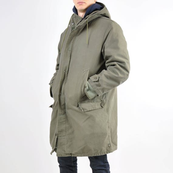 Authentic Vintage German Army Parka dqNjEzmO