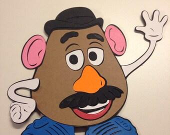 Toy Story's Mr Potato Head die cut