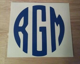 Monogram initials