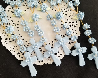 First Communion Rosary Favors, Baptism Favor, Rosaries Favor, First Communion Rosary, First Communion Favor, Rosaries Bracelets, 24 Rosaries