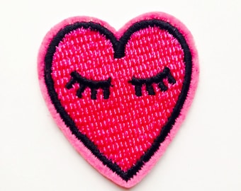 Heart | Patch | Cute | Hipster | Trendy | Emo | DIY | Fashion | Retro