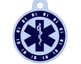 Medical ID Tag - Boyish Medical Alert ID Tag, Pet Tag, Dog Tag, Cat Tag, Bag Tag, Child ID Tag