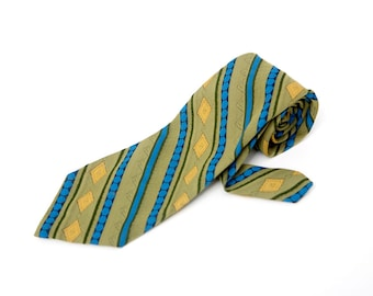 Men's Necktie / Vintage Superba Striped Tie