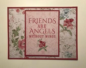 Handmade Friends Card