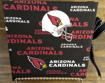 Arizona Cardinals Accordion Album (fabric)