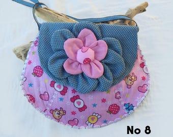 No. 8 girl purse