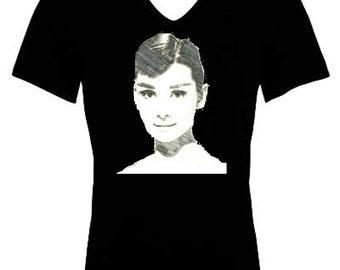 Audrey hepburn tshirt, Audrey hepburn gifts, Hollywood shirt, Audrey hepburn, Old hollywood gift, Hollywood tshirt, Hollywood glamour, Gift