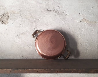 cute pans, rose gold pans, copper lovers, rustic decor, copper gift for mum, cookware ideas, skillet, cooking gift