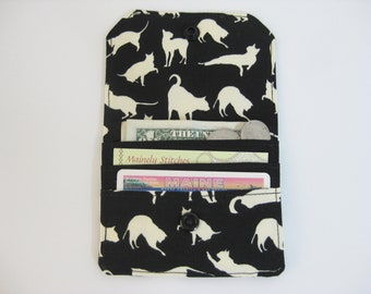 Small Wallet, Cat Mini Wallet, Credit Card Wallet
