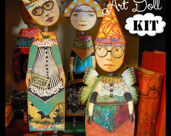 Standard Doll Kit -  for THE IMAGINARIUM - Anthology of an Art Doll Class