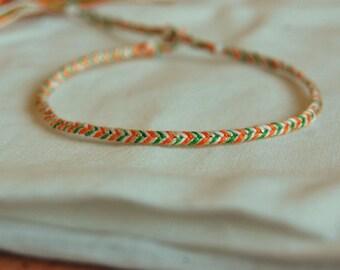 St Patrick's day bracelet
