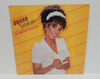 Donna Summer She Works Hard for the Money Vinyl Record LP