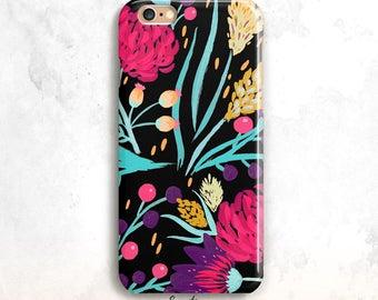 Floral iPhone 8 Case, Floral iPhone 7 Case,Floral iPhone X Case, iPhone 8 Plus, iPhone SE Case,Floral iPhone 6 Case,Floral 7 plus, 5/5S case